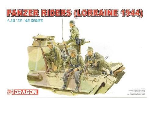 (под заказ) Немецкий танковый десант, Лотарингия 1944  - Dragon 1:35 6156