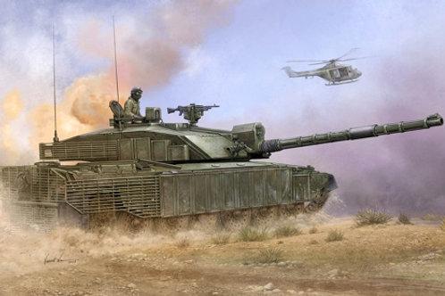 Челленджер 2 с доп. броней - Challenger 2 Enhanced Armour - Trumpeter 01522 1/35