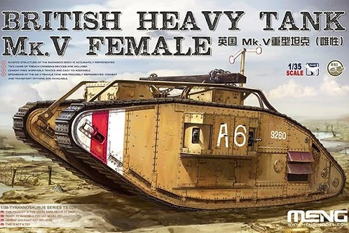 British Heavy Tank Mk.V Female - Meng Model 1:35 TS-029