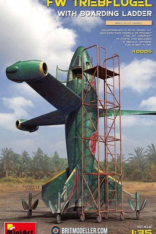 FW Triebflügel with Boarding Ladder MiniArt 1:35 40005