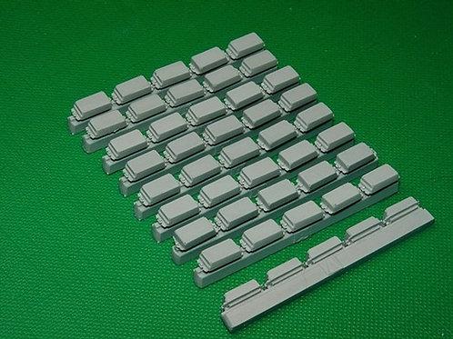 MINIARM B35046 Блоки ДЗ Контакт-3 тип A, 100 шт, для российской БТТ