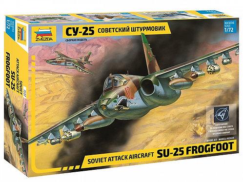 7227 Звезда 1/72 Советский самолет Су-25 (Frogfoot)