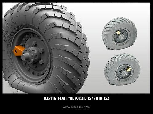 35122 MINIARM Набор спущенных колес для ГАЗ-66 (2 шт) - b35122 1:35