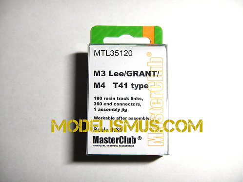 Траки металл тип Т41 для М3 Ли, Грант, Шерман - Master Club MTL-35120 1:35