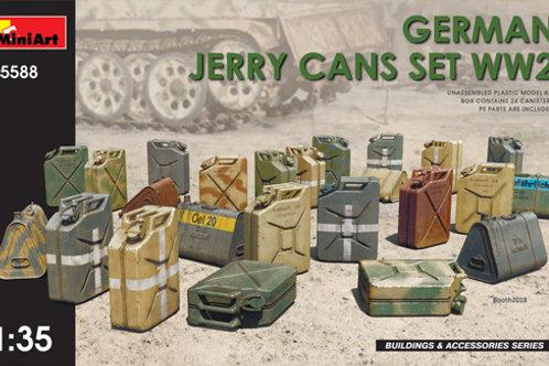 35588 Немецкие канистры Второй мировой войны - MiniArt 1:35