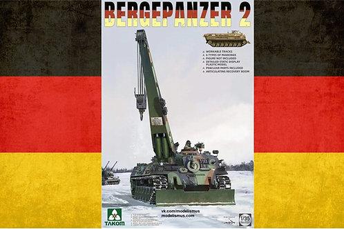 Немецкая БРЭМ Bergepanzer 2 Standard - Takom 1:35 2122