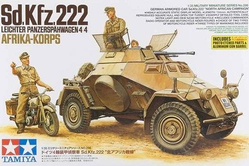 Sd.Kfz.222 Leichter Panzerspähwagen 4x4 Afrika Korps - Tamiya 1:35 35286