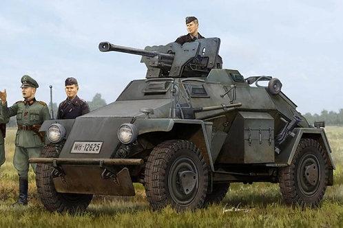 Броневик Sd.Kfz. 221 (поздний) с ружьем PzB 41 - Hobby Boss 83814 1:35