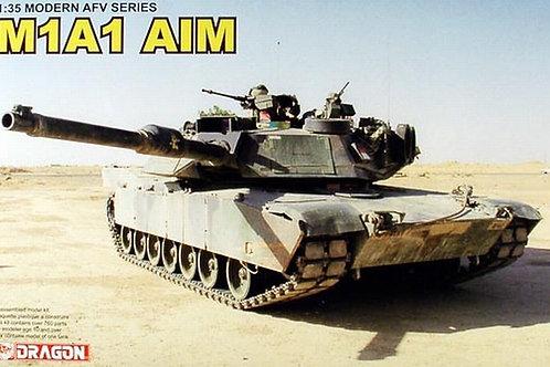 (под заказ) Американский танк Абрамс M1A1 Abrams AIM - Dragon 1:35 3535