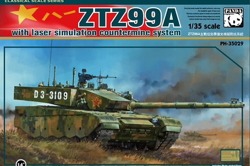 Китайский танк ZTZ99A - Panda PH35029 1:35