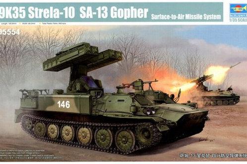 """ЗРК 9К35 """"Стрела-10"""" (SA-13 Gopher) - Trumpeter 05554 1:35"""