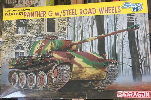 Немецкий танк Panther G со стальными катками - Dragon 6370 1:35