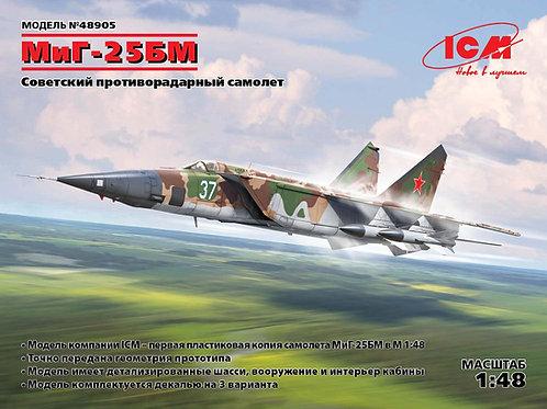 ICM 48905 МиГ-25 БМ, Советский противорадарный самолет 1:48