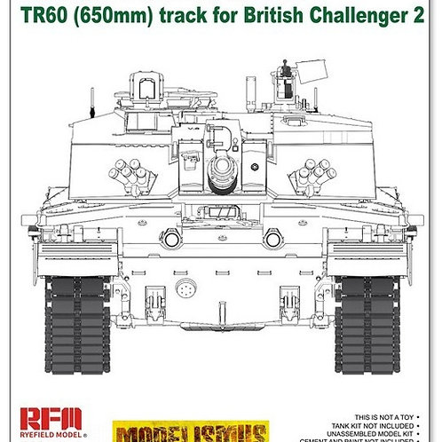 (в пути) Рабочие траки TR60 650 мм Челленджер 2 (rm-5062) - RFM RM-5054 1/35