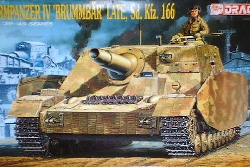 Штурмпанцер 4 Брумбэр поздний / Sturmpanzer IV Brummbar Late - Dragon 6026 1/35
