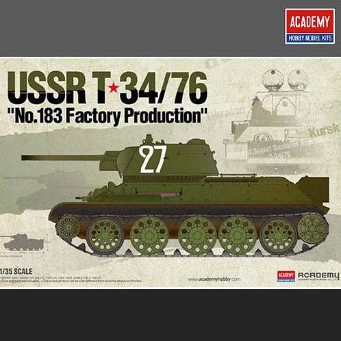 Советский танк Т-34/76, завод №183- Academy 1:3513505
