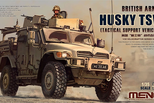 British army Husky TSV - Meng Model VS-009 1/35