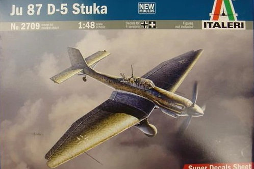 Юнкерс 87 Штука / Ju 87 D-5 Stuka - Italeri 1:48 2709
