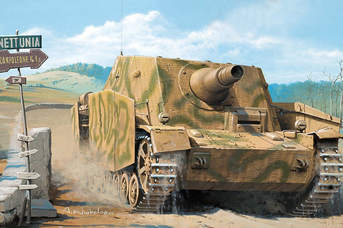 Sturmpanzer IV Brummbar early (mid production) w/interior, Hobby Boss 80135 1:35