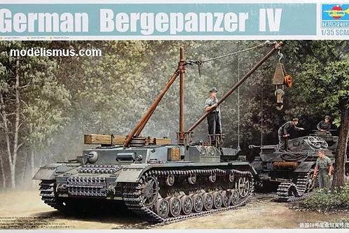 Немецкая БРЭМ Bergepanzer IV сборная модель - Trumpeter 00389 1:35