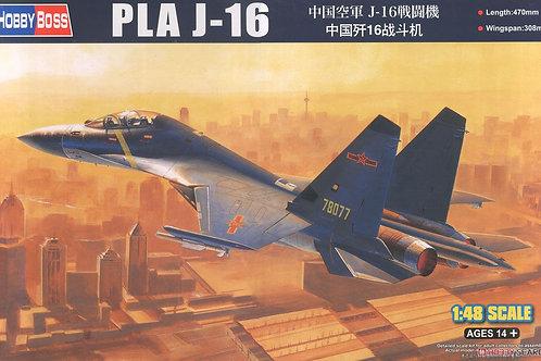 Самолет PLA J-16 - Hobby Boss 1:48 81748 - под заказ