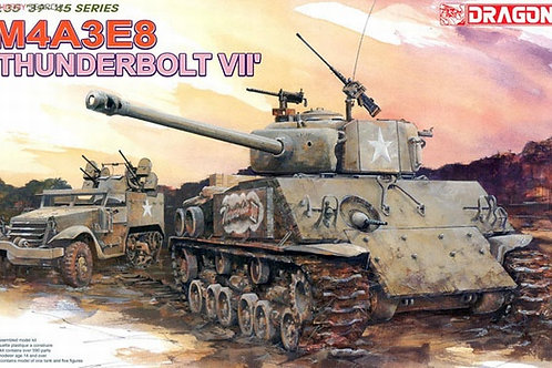 Sherman THUNDERBOLT VII, Шерман M4A3E8 Тандерболт VII - Dragon 1:35 6183
