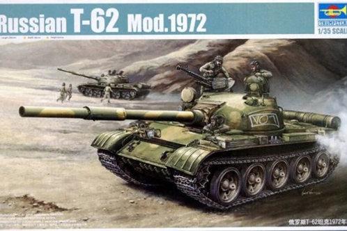 Советский танк Т-62 мод. 1972 года - Trumpeter 00377 1:35