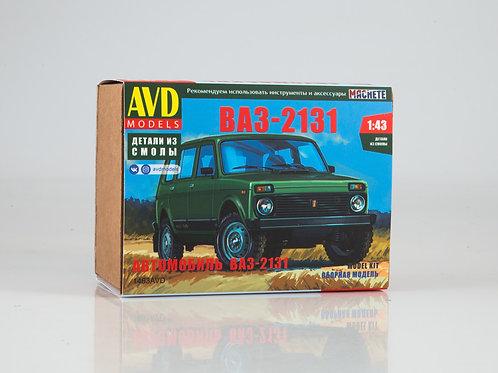 Сборная модель ВАЗ-2131 Нива - AVD Models 1463AVD 1:43