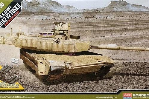 Американский танк Абрамс M1A2 Abrams SEP v2 TUSK II - Academy 1:35 13504