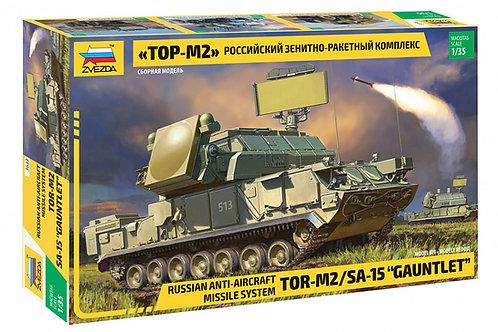 3633 Звезда 1:35 Российский зенитно-ракетный комплекс Тор-М2