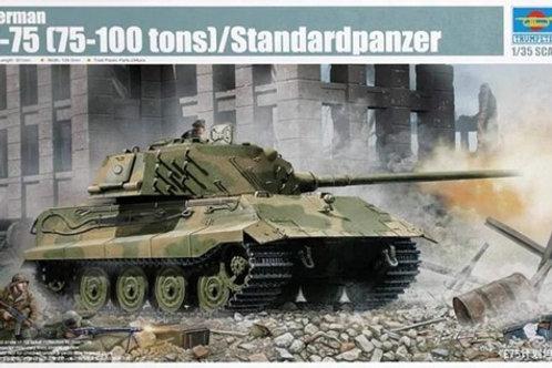 German E-75 (75-100 tons) / Standardpanzer - Trumpeter 1:35 01538