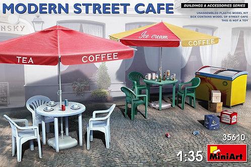 35610 MiniArt 1/35 Современное уличное кафе, заготовка диорамы