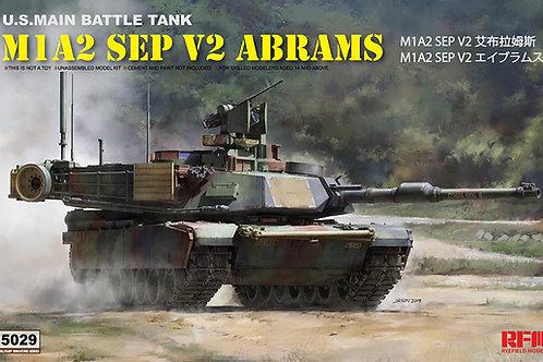 Американский танк Абрамс M1A2 Abrams SEP V2 - Rye Field Model 1:35 RM-5029 RFM