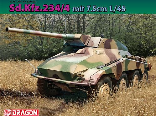 Бронеавтомобиль Sd.Kfz.234/4 с пушкой 7.5cm L/48 - Dragon 1:35 6814