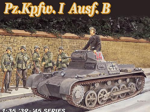 (под заказ) Немецкий танк Т-1 Pz.Kpfw. I Ausf. B - Dragon 1:35 6186