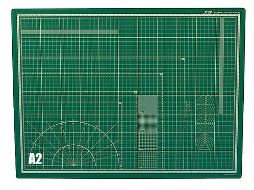 Коврик для резки, самовосстанавливающийся 3-х слойный, А2 (60x45 см) - Jas 4502