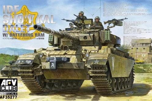 Шат Каль, IDF Shot Kal Dalet W/ BATTERING RAM - AFV Club AF35277 1:35