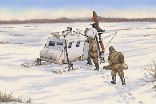 Советские боевые аэросани НКЛ-16 - 02337 Trumpeter 1:35