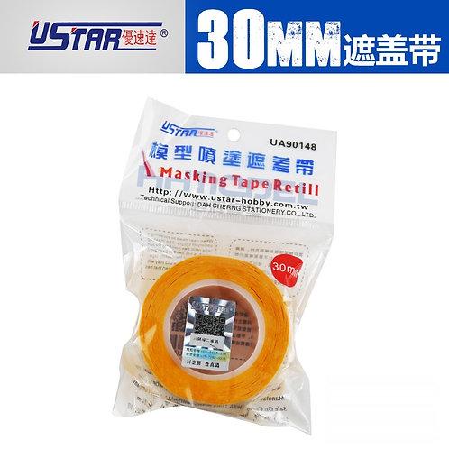 3 см U-STAR Маскировочная лента скотч модельный, ширина 30 мм