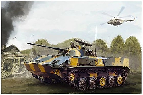 Боевая машина десанта БМД-3 - Trumpeter 09556 1:35