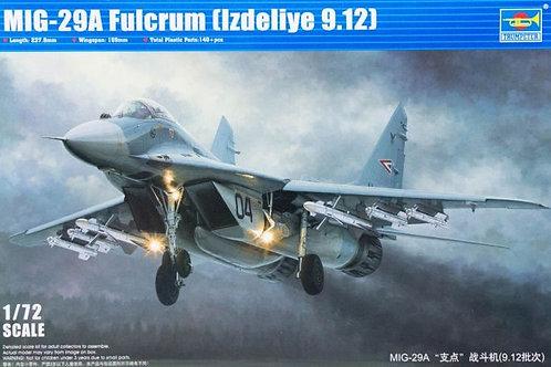 Самолет МиГ-29А (изделие 9.12) MiG-29A Fulcrum - Trumpeter 1:72 01674