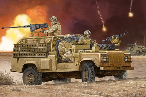 Land Rover Defender XD Wolf WMIK - Hobby Boss 1:35 82446