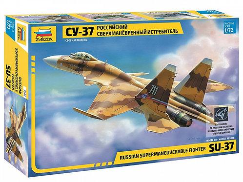 7241 Звезда 1/72 Российский сверхманевренный истребитель Су-37
