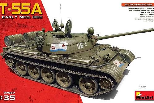 Советский танк Т-55А ранних выпусков образца 1965 года - MiniArt 37057 1/35