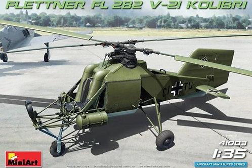 Вертолет FL 282 V-21 Kolibri - MiniArt 1:35 41003 (Колибри)