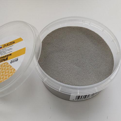 Звезда 1151 Модельный песок STUFF PRO (серый) пигмент для диорамы, 120 мл