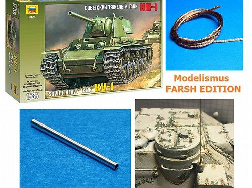*FARSH Edition* Советский танк КВ-1 1941 года - Звезда 3539 1/35 + НАШИ ПОДАРКИ