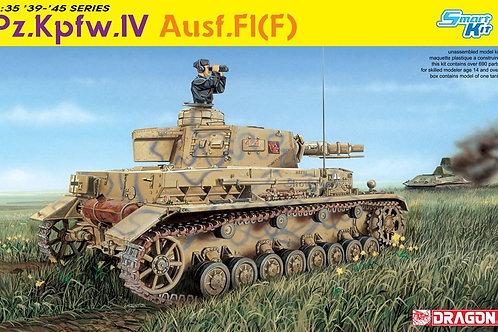 Немецкий танк Pz.Kpfw. IV Ausf. F1 (F) 2в1 сборная модель - Dragon 6315 1:35