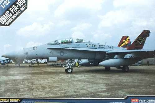 USMC McDonnell-Douglas F/A-18D Hornet - Academy 1:32 12118 - под заказ