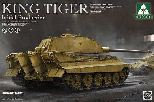 King Tiger Inital Королевский Тигр предсерийный - Takom 2096 1:35
